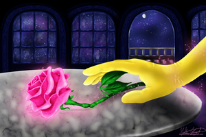 Belle and the Rose by namine1245