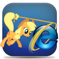 Explorer icon - applejack by spikeslashrarity