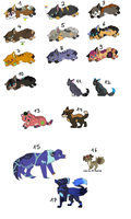Leftovers from breeding/contest! by LizzysAdopts