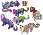 32bit Re-Release: Lesser Sphinxes by MashaTate