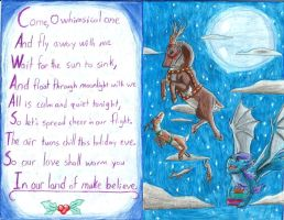 Holiday Card Project Inside by Armorwing