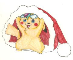 Merry Christmas Pika by TheTater