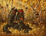Autumn's Blessing by Shadow-Wolf
