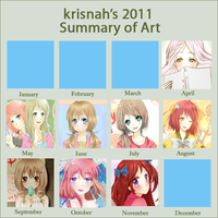 2011 Art Summary by krisppie