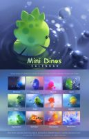 Mini Dinos Calendar 2015 by Apofiss