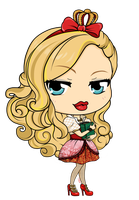 Ever After High - Apple White by Mibu-no-ookami