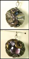 Dragon Garden Pendants by CatharsisJB