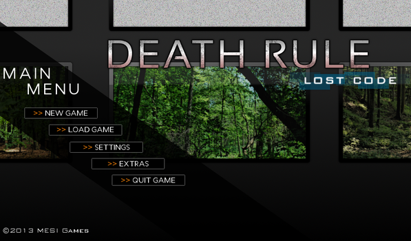 Death Rule: lost code - Second Stage Demo by ExecutorHijiri