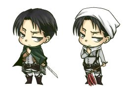 Levi (Attack on Titan) Acrylic charm by ArachRoy