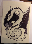 Dragon by ShadowsSearching