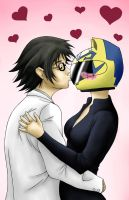 Durarara Shinra x Celty by EveilleCosplay