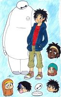 Big Hero 6 by Strabius