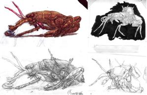 Hopper Sketches by povorot
