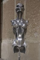 'Biomechanoid' by H.R. Giger by HORSEKING