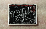 Truth Dart Linocut by Hemato