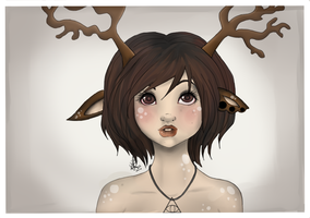 Deer by LOH-CHAN
