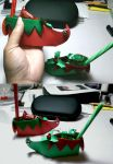 Elf Shoe Favor by disdaindespair