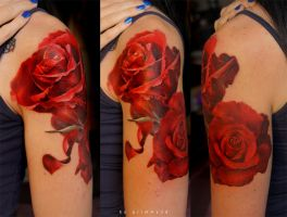 Roses by grimmy3d
