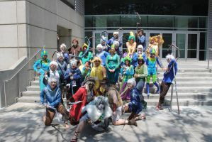 AX13-Group Photo by moonymonster