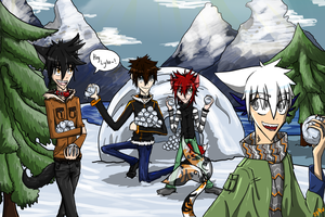 Winter ID: 2013 - SNOWBALL FIGHT by ay4u