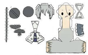 Stein Papercraft by uzumara