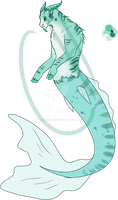 Seafoam Capricorn - Adopt - Open! by Chickenly