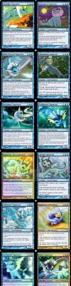 Vaporeon: PTCG to MTGTCG by GamerDruid