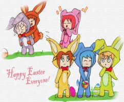 Kingdom Hearts Easter - Happy Easter!!! by lollypop071