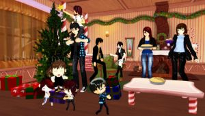 [MMD] Family Meeting by MrMario31095