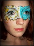 Mask of Time by sweetgreychaos