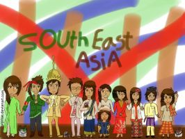 Hetalia: South East Asia by SosoSurprise