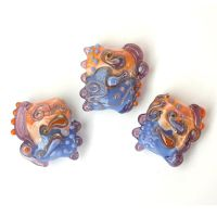 Swim: Lampwork Bead Set by sarahhornik