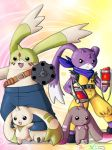 Digimon art by Fushidane