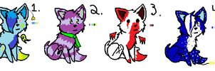 Kitty adoptables 2  -1 and 2 OPEN- by FR0STBYTE000