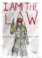 I am the Law! by sl4gtermester