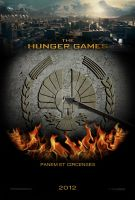 The Hunger Games 'Capitol' poster design by NickVestige