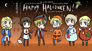 Hetalia Halloween by leTournesol