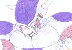 Frieza 3rd form by BlinVarfi