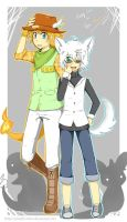 Chill and Mike Gijinka by sylvia65charm