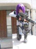 Major Motoko Kusanagi: 2nd Gig by CHR0NIE