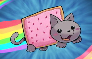 Nyan Cat by StevenRayBrown