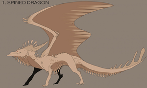 Dragon adoptable - 15 points (CLOSED) by Ink-Leviathan