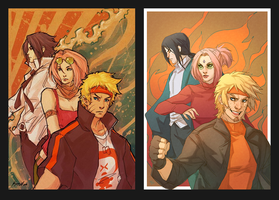 Team 7 Redraw by kathrynlayno