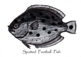 Spotted Football Fish by Shuriken22