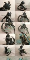 Chocolate Mint Dragon by customlpvalley