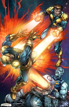 Nova 619 Cover color variant by Steele67