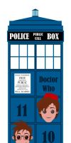 Doctor Bookmark by JaviDLuffy