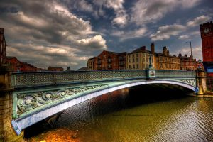 Under Leeds Bridge. by GaryTaffinder
