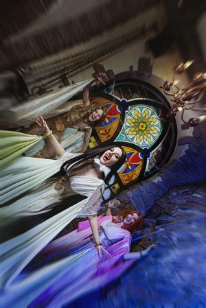 The Brides of Dracula. Monsters attack! by Afemera
