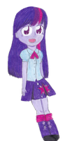 Twilight Sparkle by timelordponygirl